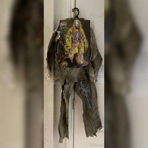 Skeleton Zombie Kids' Costume Small (4-6)